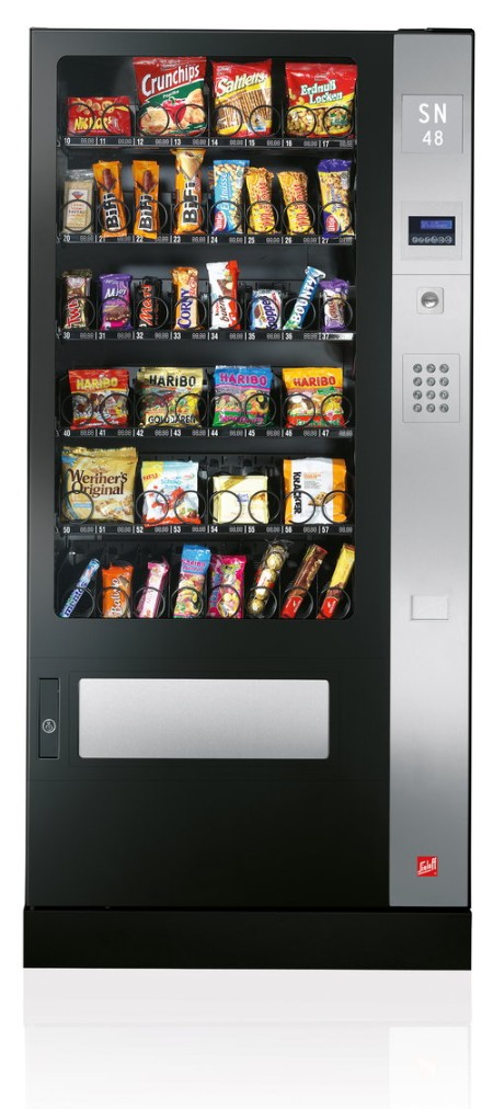 Distributeurs automatiques - Snack and drinks machines - Hotelequipment